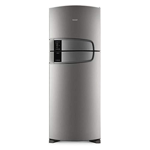 Refrigerador Consul Bem Estar CRM51 Frost Free 405L Cinza Refrigerador Consul CRM51 110V
