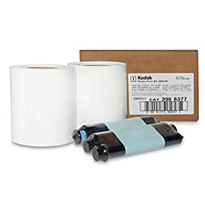 KODAK 305 6R Ribbon and Photo Paper Media Kit (for 4x6 / 6x8 Prints)
