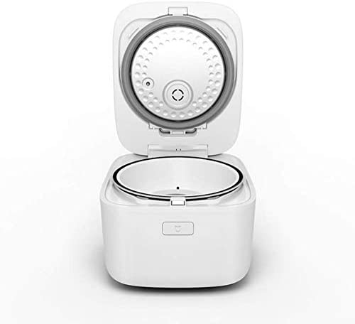 MxZas Mini rijstkoker,Elektrische rijstkoker Legering Non-Stick Smart Verwarming Fornuis Automatische Rijstkoker Geschikt voor Huishoudelijk Gebruik Jzx-n