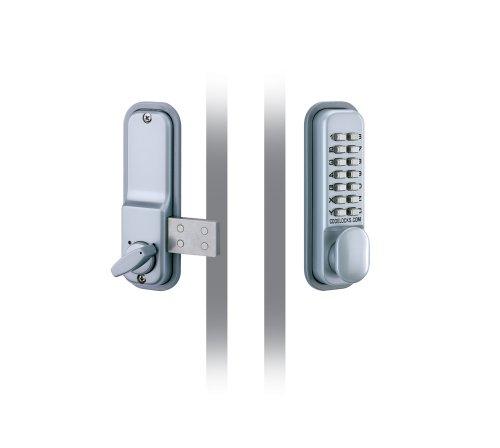 Codelocks 0100SG CL100 SG Digital Lock, Silver Grey