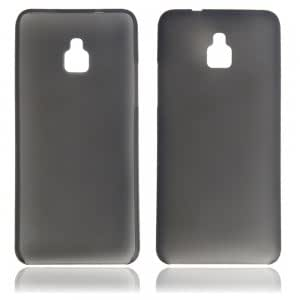 0.3 Super Slim Plastic Protective Case for HTC mini/M4 Black