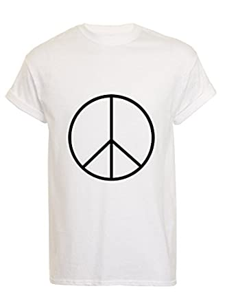 Peace T Shirt: Amazon.co.uk: Clothing
