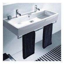 Amazon.com: Duravit 30341000 Vero Towel Rail, Chrome: Home & Kitchen