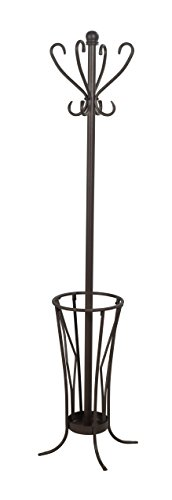 Leisure Space Coat Rack with Umbrella Stand - Stand Umbrella Rack