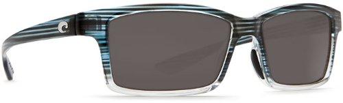 Costa Del Mar Tern Adult Polarized Sunglasses, Topaz Fade/Gray 580P, - Tern Sunglasses Costa Polarized
