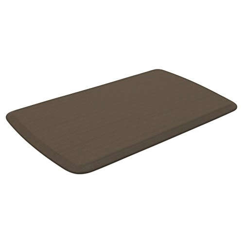 """GelPro Elite Premier Anti-Fatigue Kitchen Comfort Floor Mat, 20x36"""", Linen Sandalwood Stain Resistant Surface with therapeutic gel and energy-return foam for health & wellness by GelPro (Image #2)"""