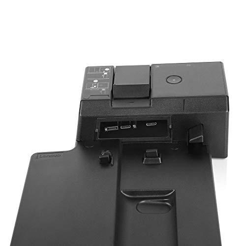 Lenovo ThinkPad Ultra Docking Station US (40AJ0135US) for A285, A485, L580,  L480, T490s, T490, T590, T580, T480, T480s, P52s, X390, X280, X1 Carbon