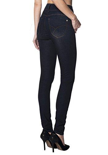 Women's Butt Lift V2 Super Comfy Stretch Denim Jeans P43632SK Indigo1 1