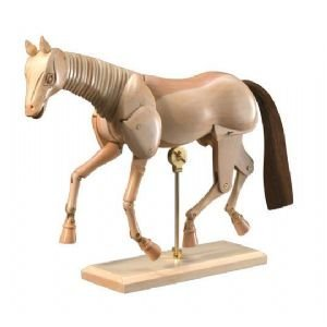 HORSE MANNEQUIN 12'' Drafting, Engineering, Art (General Catalog) by Heritage Products