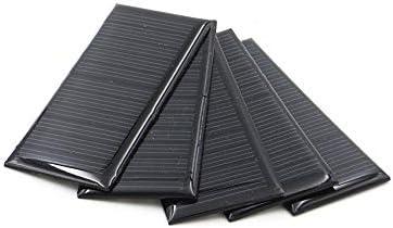Z.L.FFLZ Mini Solar-Panel 5.5V70MA Akkustrom-Lademodul Solarzelle Mini Solar Panel Polykristalline Silizium-Standard-Epoxy DIY