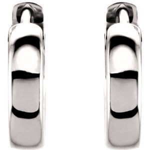 Platine 11,5mm Boucles d'oreilles créoles à charnière