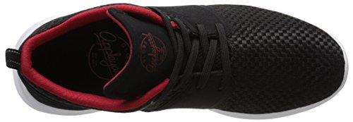 Globe Mens Mahalo Lyte Casual Sneaker Noir / Rouge