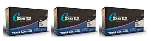 3 Pack- Essentials Compatible Q2612A (12A) Black Toner Cartridge for HP Laserjet 2300 Series (Alternative for Q2610A, HP 10A) (6000 Page Yield) ()