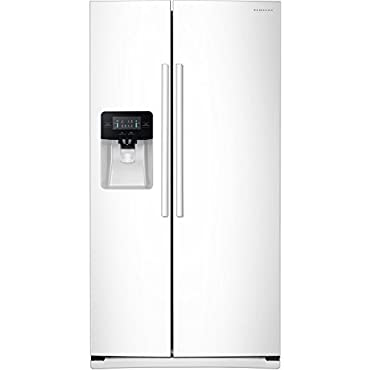 Samsung RS25J500DWW 25.0 Cu. Ft. White Side-by-Side Refrigerator Energy Star