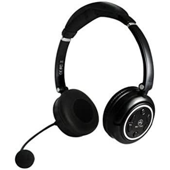 andrea communications wnc 1500 stereo 2 4ghz wireless computer headset with noise. Black Bedroom Furniture Sets. Home Design Ideas