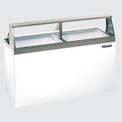 Master-Bilt DD-66 Ice Cream Dipping/Display Cabinet with (12) Three Gallon Tub Display & (8) Three Gallon Storage Capacity