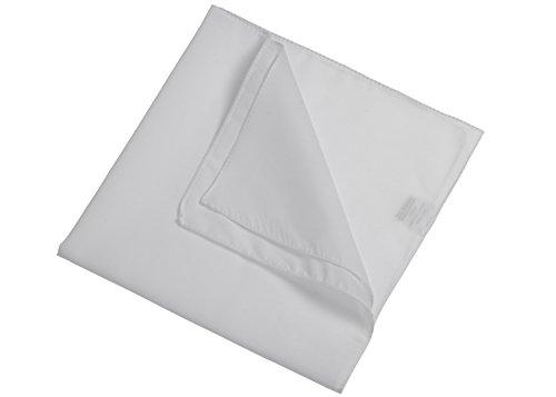 En 18 Bandana White 2store24 foulard Couleurs Uni gZv6AqF