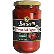Botticelli Organic Fire Roasted Sweet Red Peppers (12oz) (2)