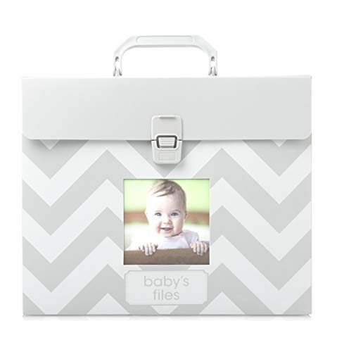 - Tiny Ideas Baby File Keeper, Gray