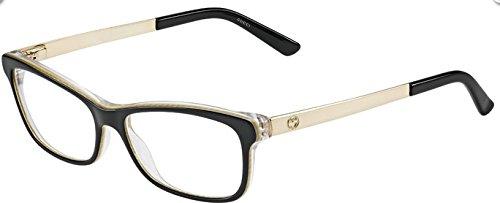womens glasses gucci eyeglasses frames gg 3678 4wh blckembss - Womens Gucci Frames