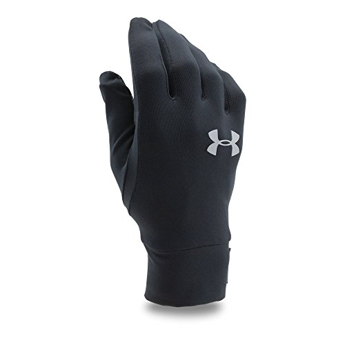 Under Armour Men's Liner Coldgear Storm Water Repellant Glove,Black/Black,Large