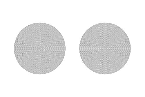 Sonos In-Ceiling Speakers – Pair of Architectural Speakers by Sonance for Ambient Listening (Renewed)