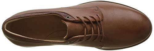 Derby Dark Scarpe Lea Frida Stringate Tan Donna Clarks Marrone qR4tznw