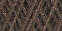 Bulk Buy: Aunt Lydia's Crochet Cotton Classic Crochet Thread Size 10 (3-Pack) Fudge Brown 154-131