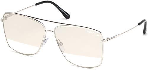 Tom Ford FT0651 Silver/Smoke Lens Mirror ()