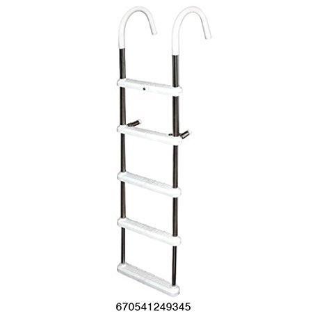 JIF Marine 5-Step 7'' Gunwale Hook Ladder