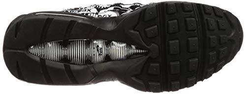 95 Air Scarpe Nike Nero Prm black white Max Running Uomo 017 black EHnq1
