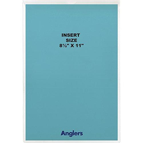Envelope Anglers Vinyl Clear - Anglers Sturdi-Kleer Vinyl Envelopes with Flaps, 8 1/2