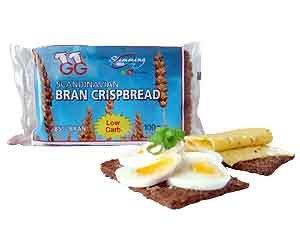 GG Scandinavian Bran Crispbread, 3.5-Ounce Packages (Pack of 15)