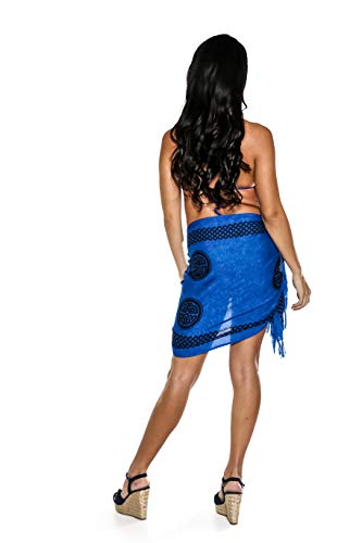 Your World Celtic Sarongs In Of Choice Scarf Femmes Knot Bleu Wrap Color 1 qy8Zxtdw5q