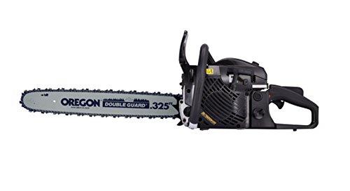 Benzin Kettensäge 45cm 2,4PS OREGON Sägekette und Schwert Motorkettensäge *NEU*