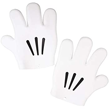Disney Mickey Mouse Hand Oven Mitt Set - Silicone - Heat-resistant, Food Safe - Right and Left Hand Glove Pair