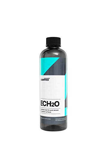CarPro ECH2O Waterless Wash, High Gloss Detail Spray, Rinsele-less Wash, and Clay Lubricant Concentrate 500 ml ()