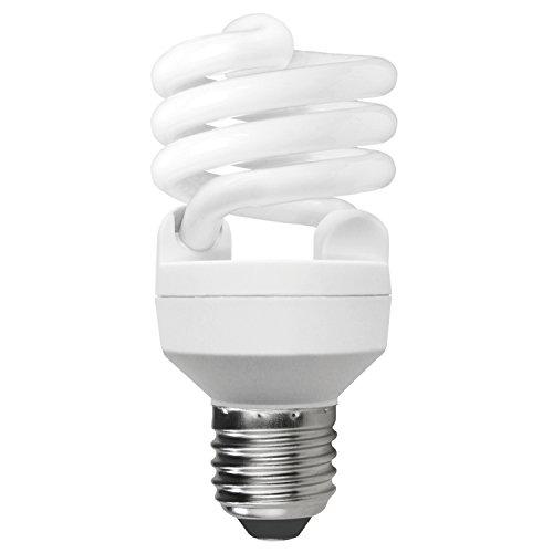 Sunlite SMS20/65K/CD1 Fluorescent 20W (75W Equivalent) CFL T2 Mini Spiral Light Bulbs, 6500K Daylight Like Light, Medium (E26) - T2 Locations