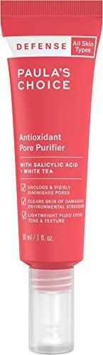 Paula's Choice-DEFENSE Antioxidant Pore Purifier, Concentrated Serum w/Azelaic Acid, Salicylic Acid & White Tea, Anti-Pollution & Free Radical Damage Protection for All Skin Types, 1 Ounce Tube