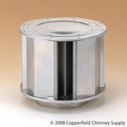 Chimney 68530 5 in. Type B Vent High Wind Rain Cap