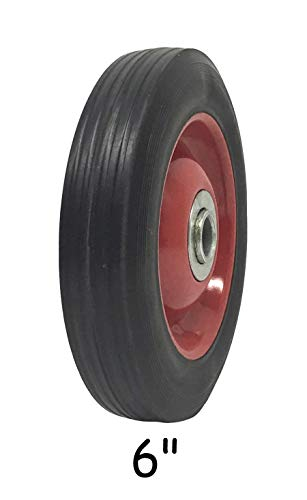 - Solid Rubber Flat Free Tire 6