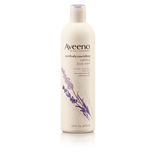 - Aveeno Positively Nourishing Moisturizing Calming Body Wash, 16 Fl. Oz