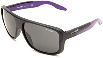 Arnette Men's Glory Daze Sport Sunglasses,Black Frame/Grey Lens,One Size