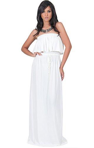 one shoulder jersey maxi dress - 4