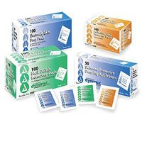 1508 PT# 1508- Prep Pads EKG/ECG Isopropyl Alcohol with Pumice 1000/Ca by, Dynarex Corporation by Dynarex