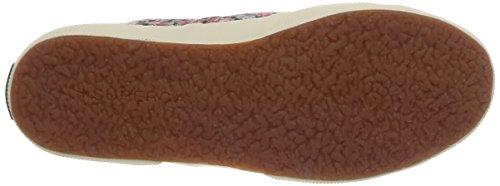 Red Mixte Baskets Flowered Fabric a64 Superga Cotu Box Adulte Multicolore Mode 2750 TwqnUAv