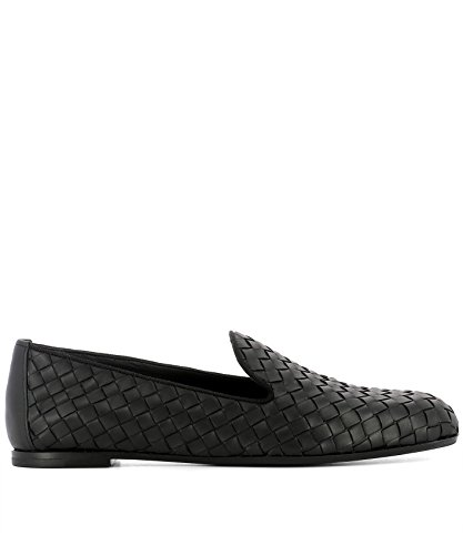 Bottega Veneta Women's 474844V00131000 Black Loafers