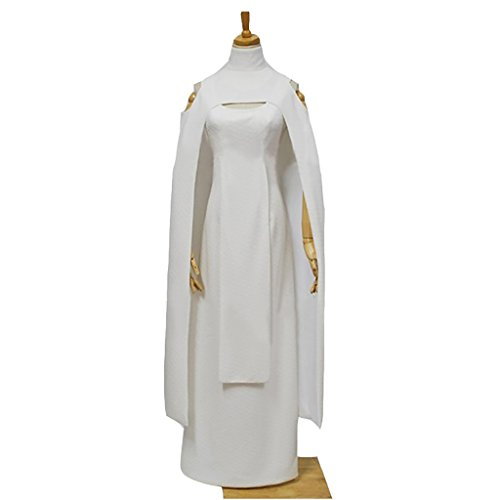Leia Costume Uk (CosplayDiy Women's Dress for Star Wars Sheltay Retrac Cosplay XXXL)