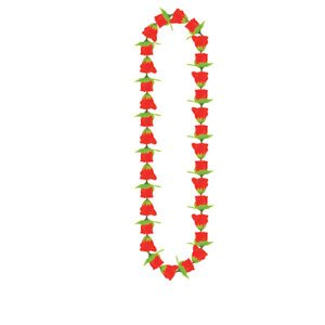 Beistle Rose Lei Necklace