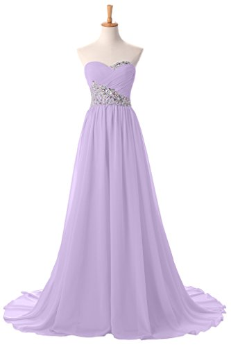 Sunvary New Sweetheart Pageant Maxi Summer Wedding Prom Reception Bridesmaid Dress Size 26W- Lilac by Sunvary